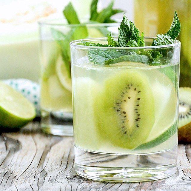 Honeydew Melon And Kiwi Sangria