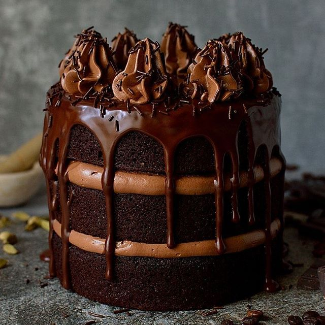 Best Chocolate Cake With Coffee In It