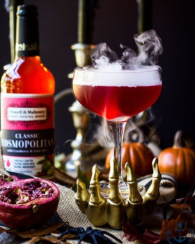 I'm sharing a spooky little libation with the help of my friends @powellmahoneycocktail. It's called…