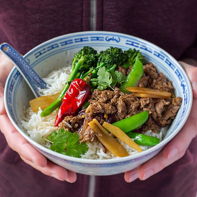 Stir Fried Lamb With Bamboo Shoots And Broccoli