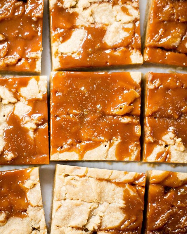You deserve a reward. How about these delicious and easy salted caramel blondies?