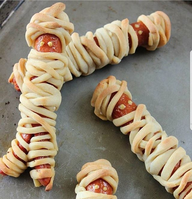 Mummy dogs will be happening daily until Halloween is over and I'm not mad about it!
