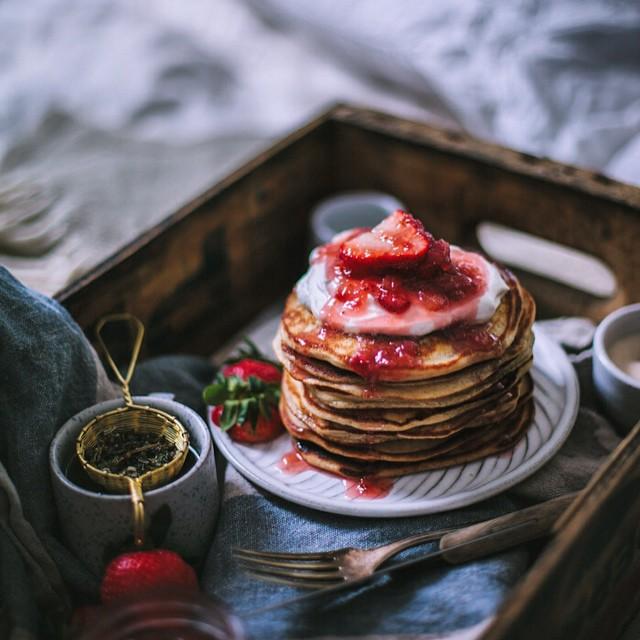 Goat Cheese & Marscapone Pancake