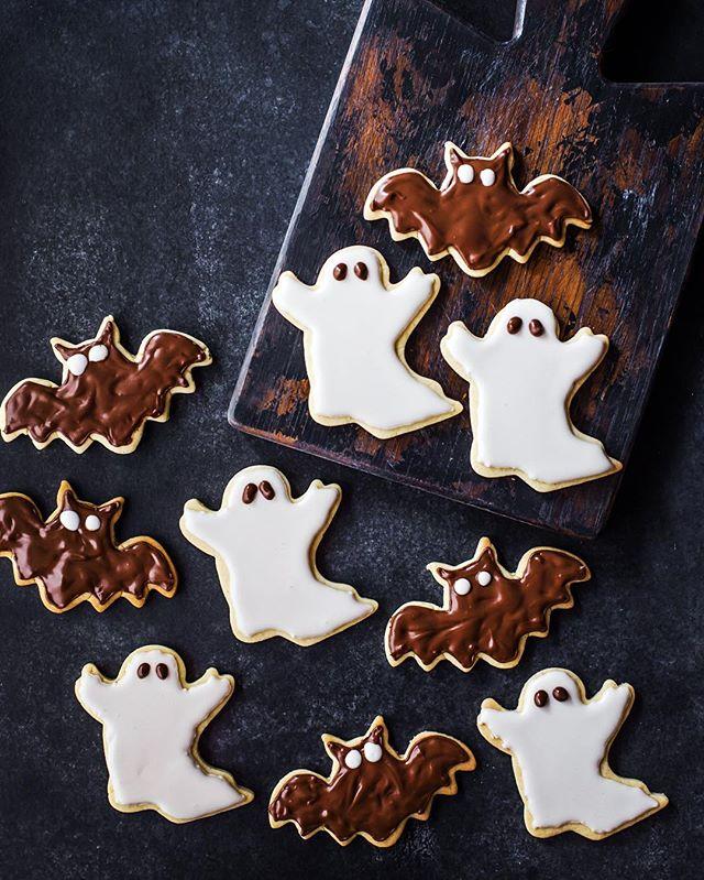 Spooky Chocolate Halloween Cookies