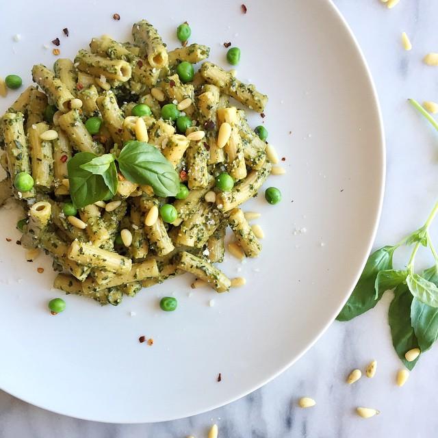 Spring Ramp & Pea Pesto