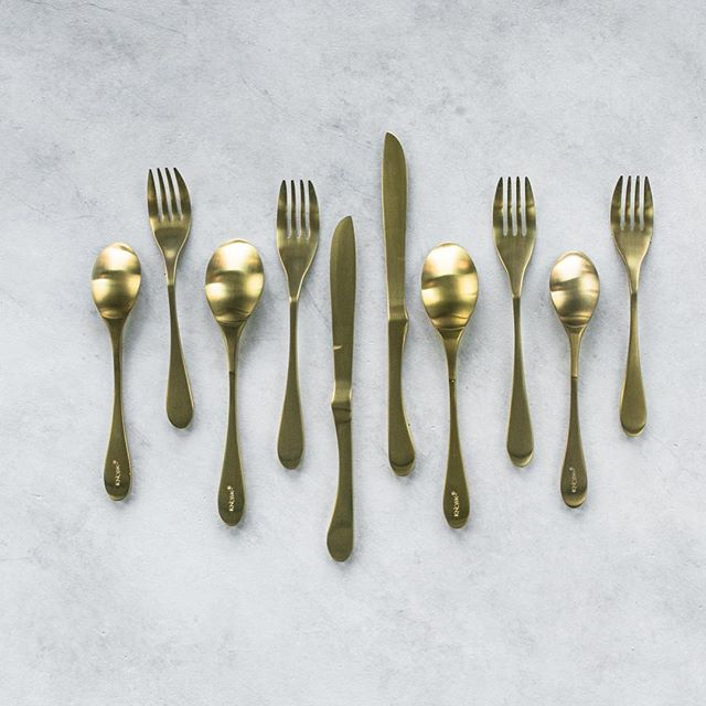 The official tableware of FeedfeedBrooklyn, Knork flatware is made with sleek design and practical…