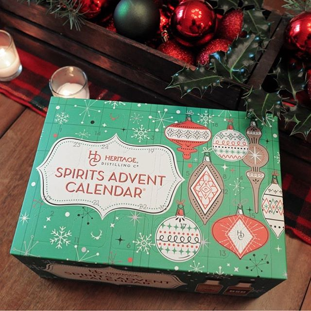 An advent calendar for adults! Each day pop open your calendar for the mini spirit of the day and…