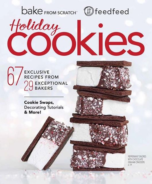 This special Holiday Cookie issue features 29 of our @thefeedfeed Editors / Contributors who love to…