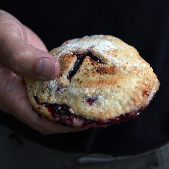 Lemon Blueberry Hand Pies