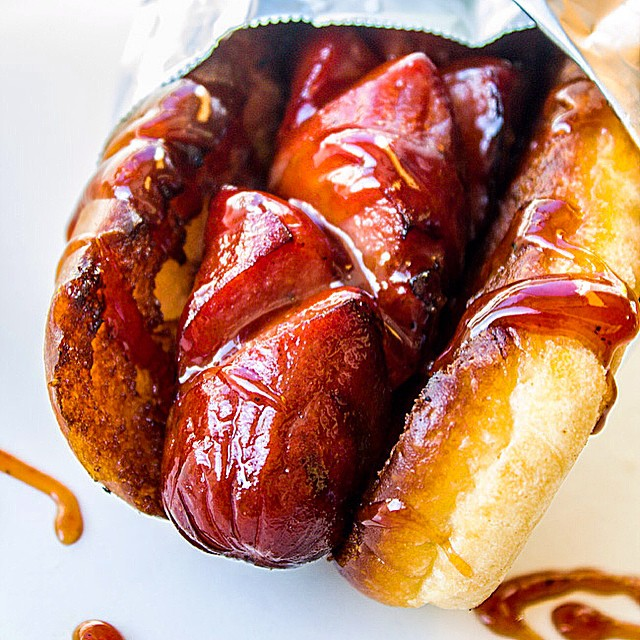 Hot Dog With Special Sauce
