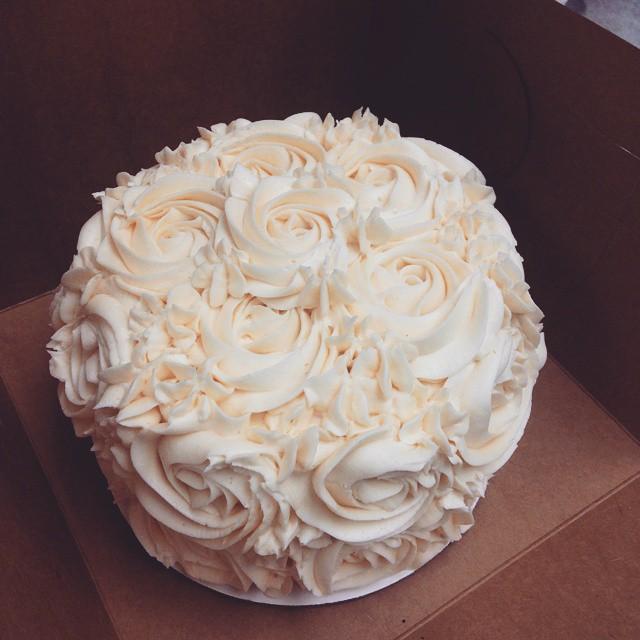 Gluten Free Rosette Cake