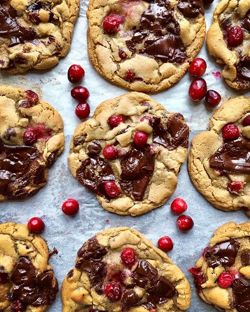 Browned Butter Cranberry Chocolate Chunk
