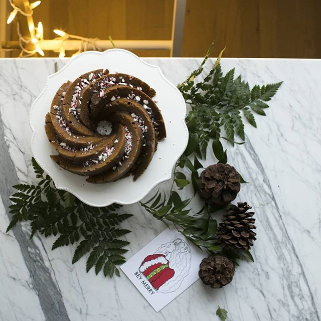 Spiced Bundt Cake With Cream Liqueur Icing