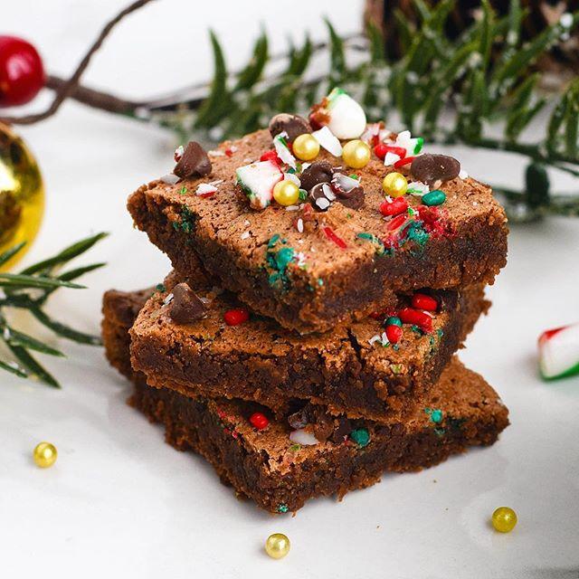 Spiced Almond Flour Fudge Brownies
