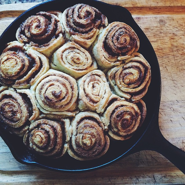 Brown Butter Cinnamon Rolls With Brown Butter Cream Cheese Icing