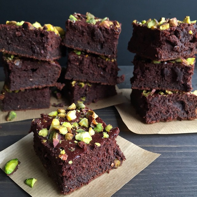 Beet And Chick Pea Flour Brownies