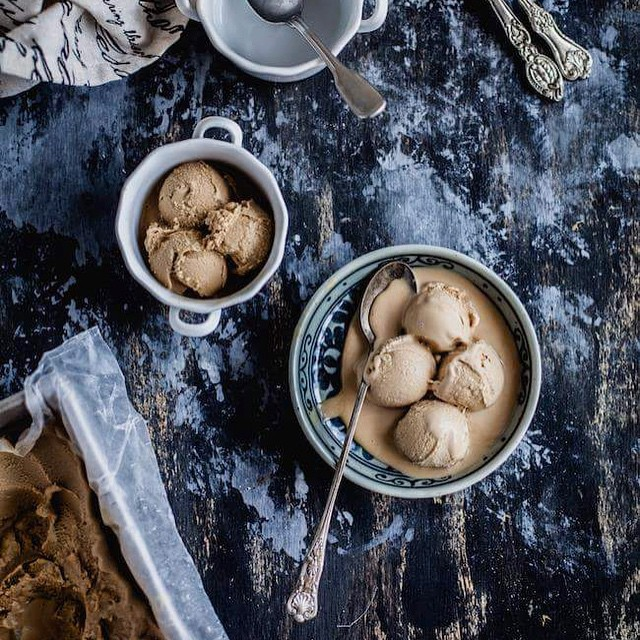 Date Palm Jaggery Ice Cream