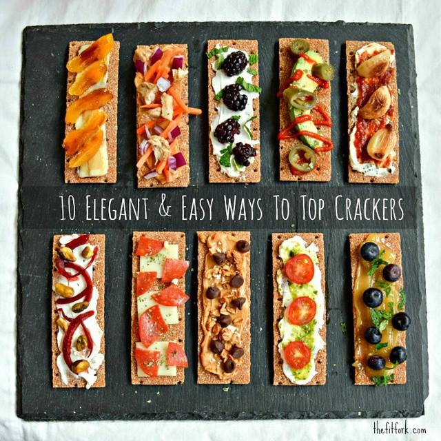 10 Elegant Crackers
