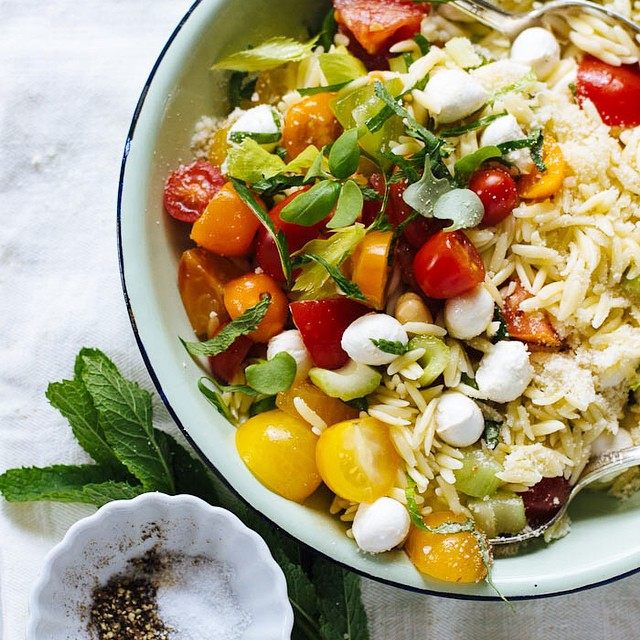 Summer Orzo Salad