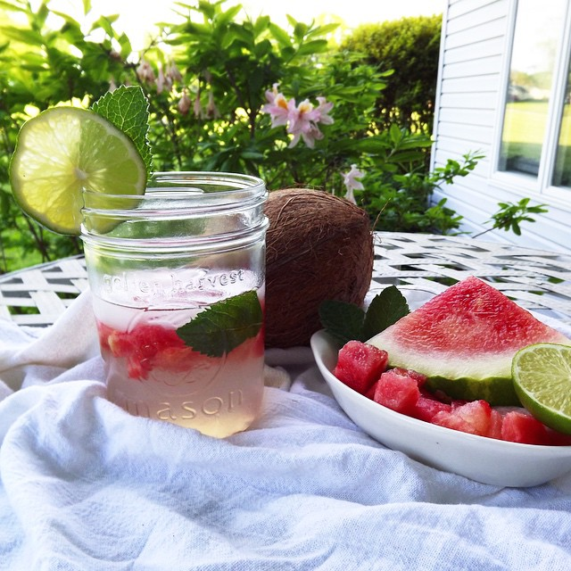 Watermelon And Mint Coconut Water