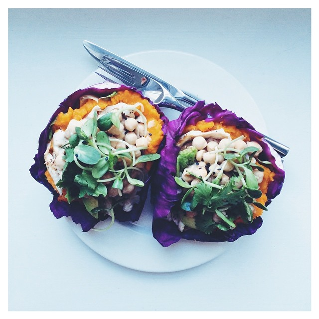 Purple Cabbage Tacos