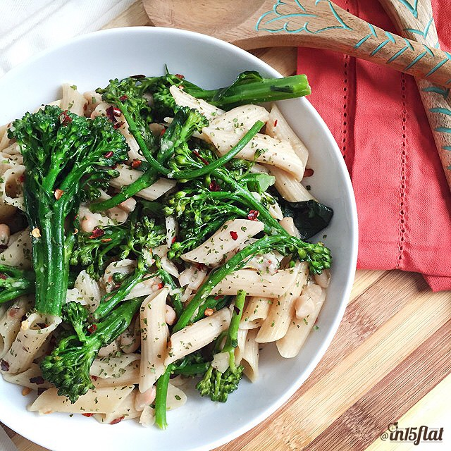 Garlic & Broccoli Rabe Penne
