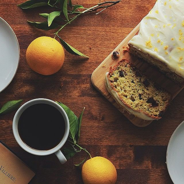 Orange Blossom & Zucchini Chocolate Chip Bread