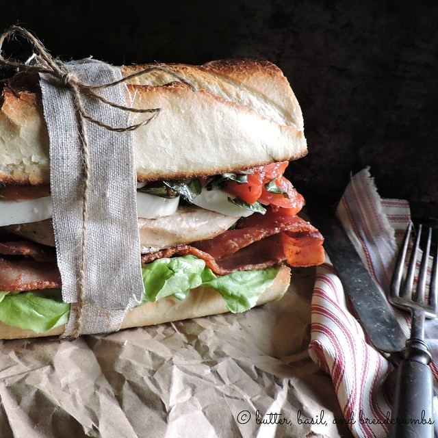 Chicken Caprese Blt