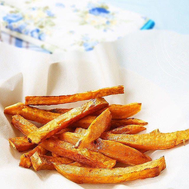Cinnamon And Smoked Paprika Sweet Potato Fries