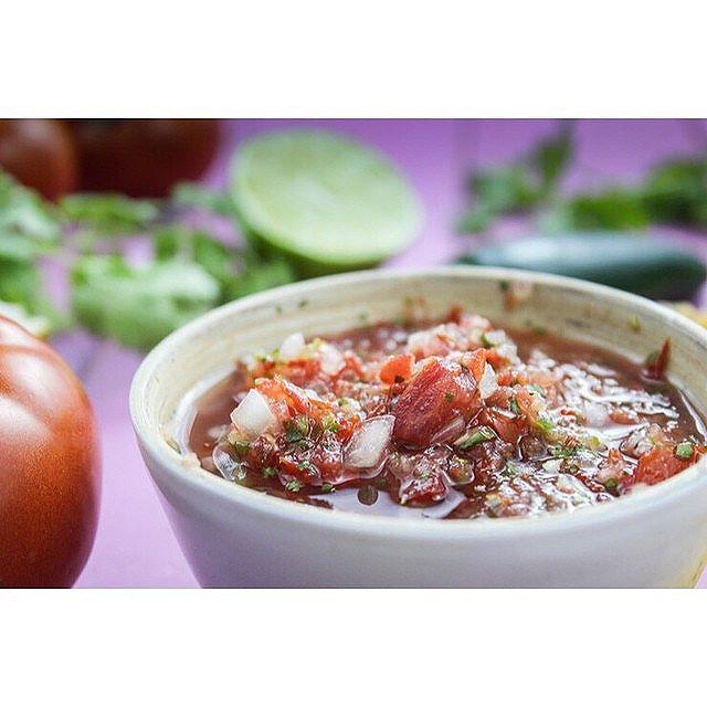 Homegrown Tomato Salsa