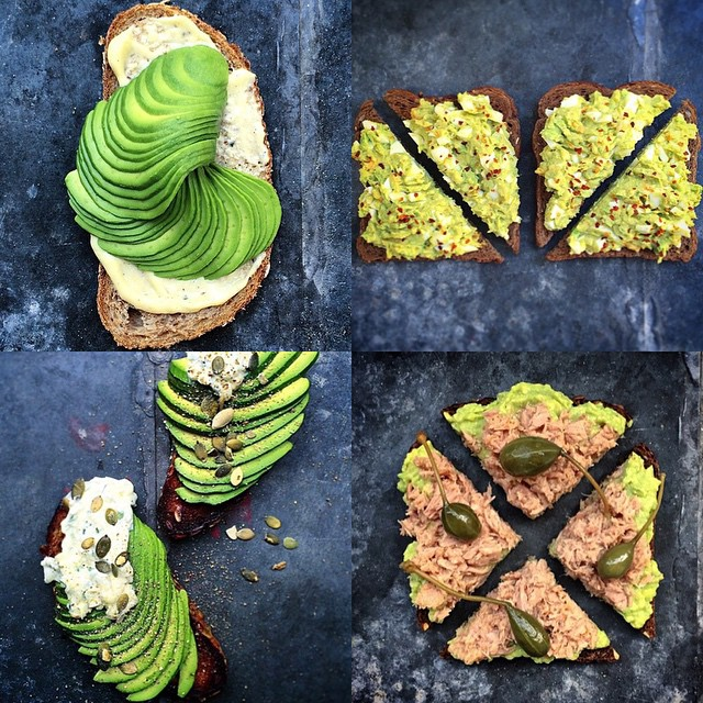 Avocado Toast Variations