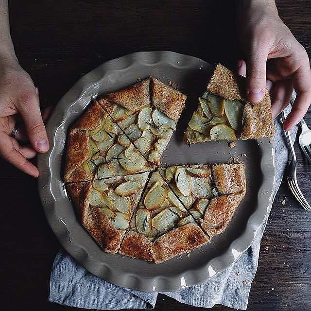 Wholegrain Galette With Rosemary & Potato