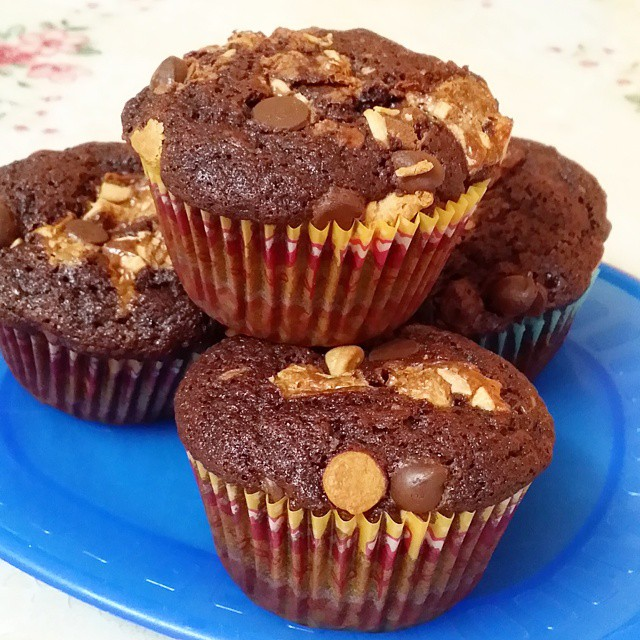 Chocolate Candy Muffins