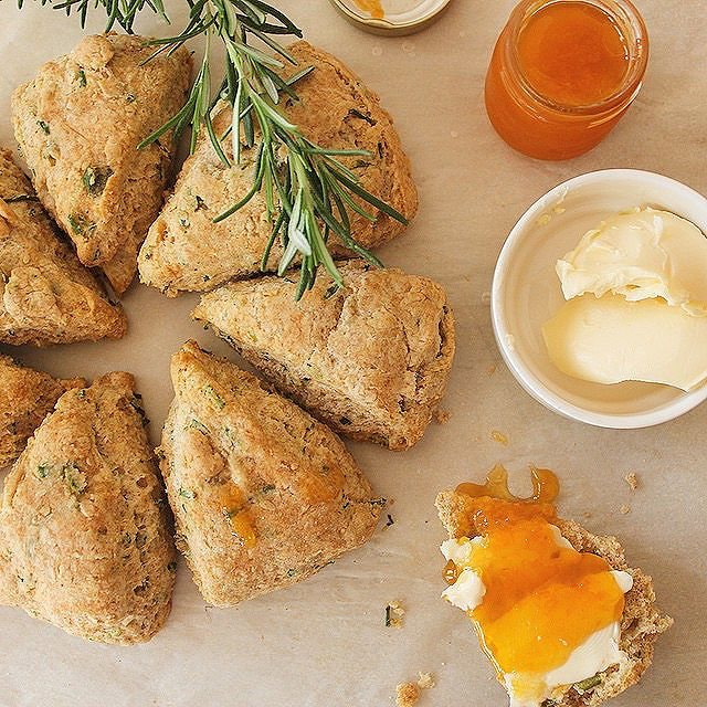 Parmesan And Chive Scones
