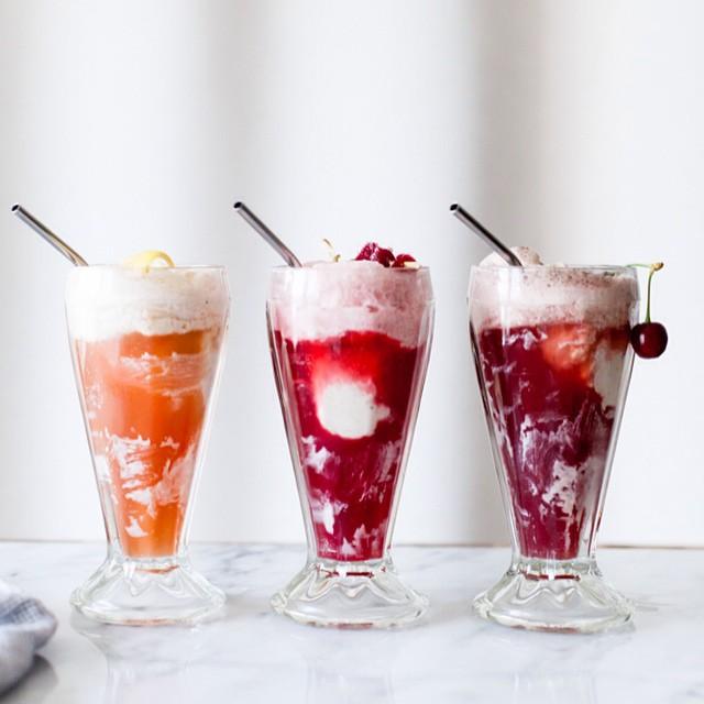 Ice Cream Float Trio