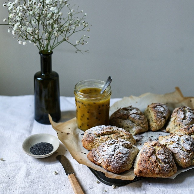 Lemon Poppyseed Scones