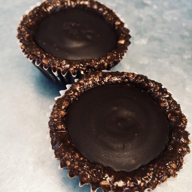 Paleo Chocolate Almond Tart