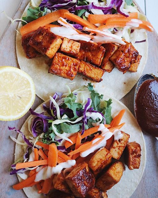 Bbq Tofu Tacos