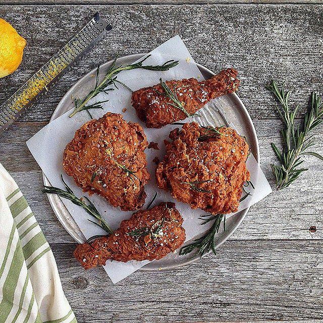 Rosemary Brined Buttermilk Fried Chicken Recipe By Deborah Balint