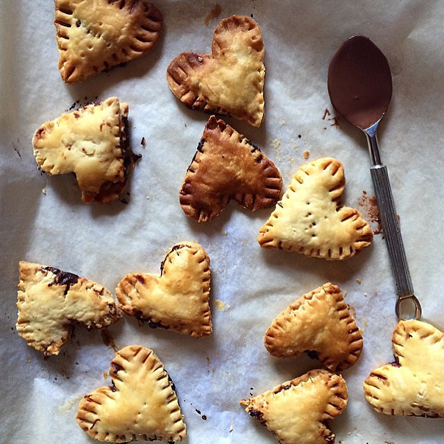 Chocolate Hazelnut Hand Pies