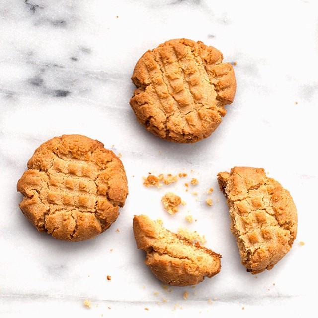 Scratch-made Peanut Butter Cookies