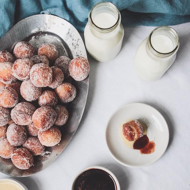 Malasada Style Doughnuts