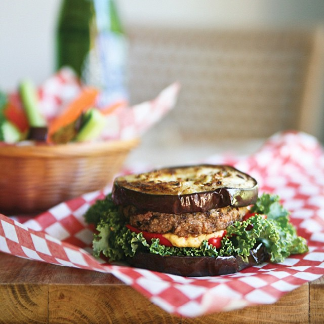 Wild Rice Veggie Burgers With Chilli, Oregano & Thyme