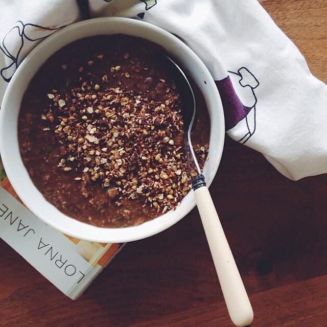 Zucchini Cacao Oatmeal