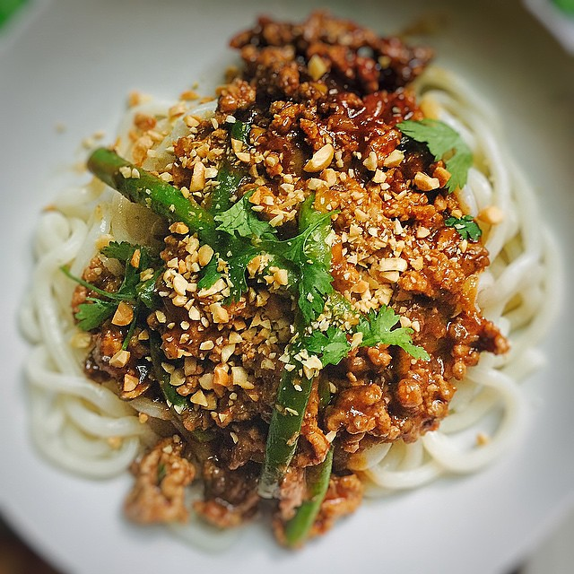 Spicy Pork With Green Beans