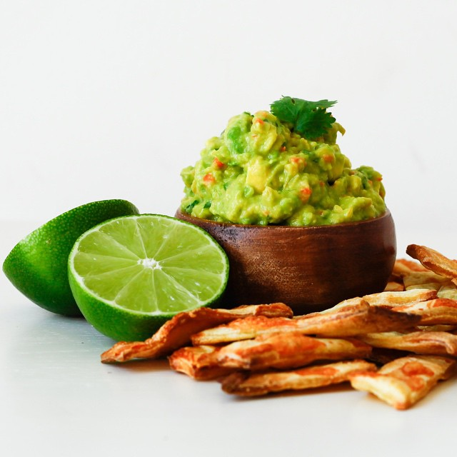Guacamole With Fermented Carrots