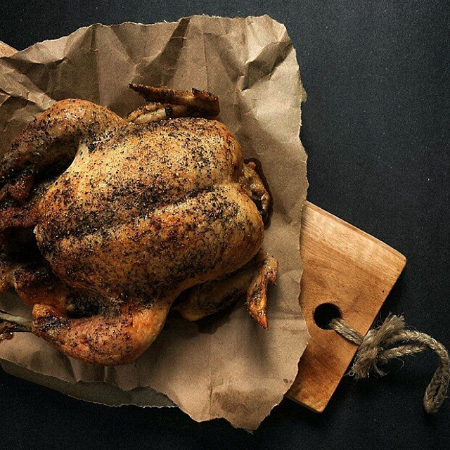 Perfect Whole Roasted Chicken