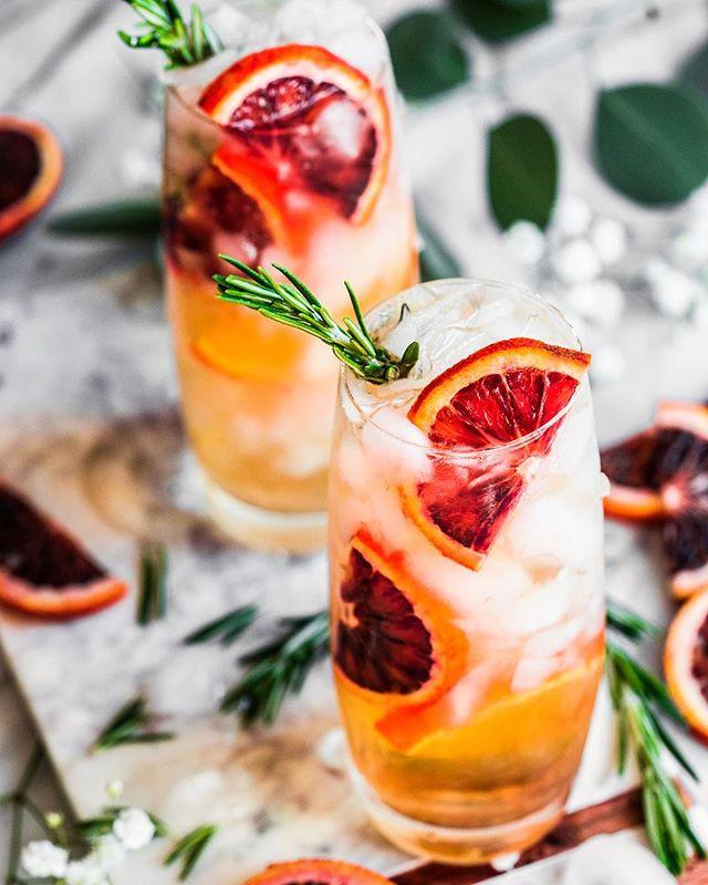 Blood Orange Tequila Cocktail