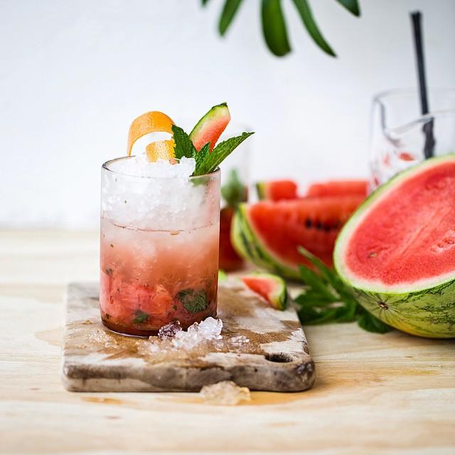 Watermelon And Grapefruit Mojito