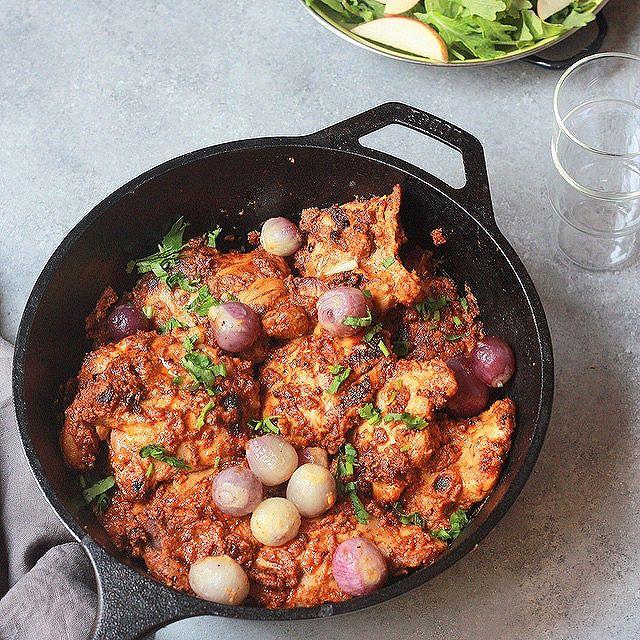 Grilled Chicken In Tamarind Masala Sauce